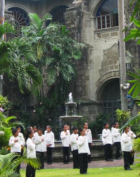 Courtyard San Agustin