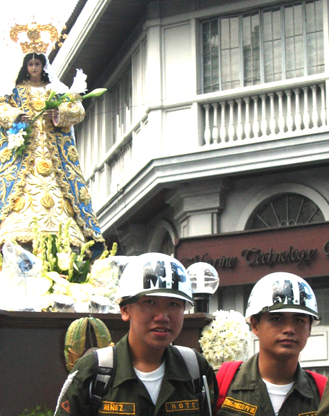 Mary Mother of the Military Police